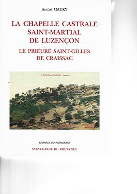 La chapelle castrale Saint Martial de Luzençon – André Maury