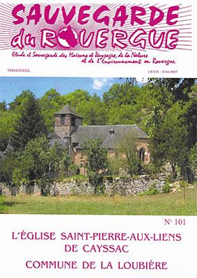 L'église Saint-Pierre-aux-Liens de Cayssac Commune de La Loubière