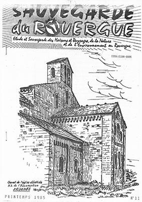 Chevet de l'Eglise Abbatiale de l'Assomption SYLVANES