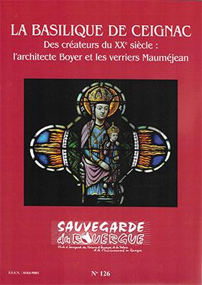 La basilique de Ceignac de Ceignac des créateurs au XXè siècle Boyer et Mauméjean