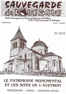 Le Patrimoine Monumental et les Sites de l'Aveyron Procédures – Listes – Adresse utiles