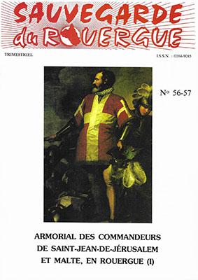 Armorial des Commandeurs de Saint-Jean-de-Jérusalem et Malte, en Rouergue