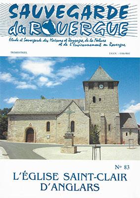 L'église St Clair d'Anglars