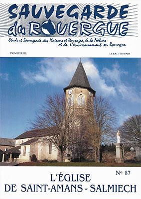 L'église de Saint-Amans Salmiech