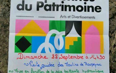 Durenque : Journées Européennes du patrimoine