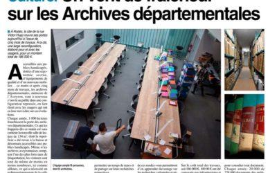 Un vent de fraîcheur sur les archives départementales