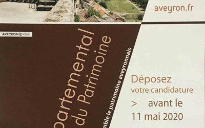 Prix départemental de la mise en valeur du patrimoine