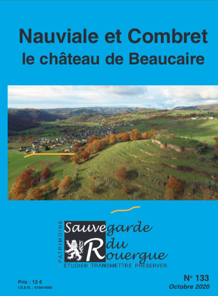 Nauviale et combret, le château de Beaucaire