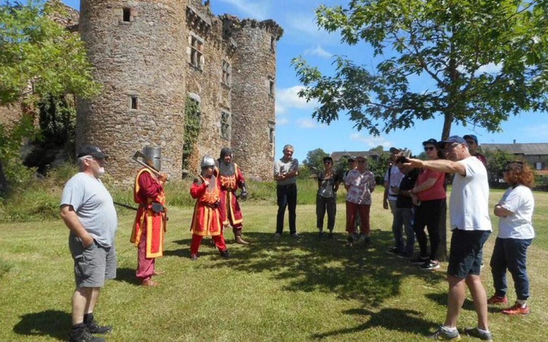 Patrimoine et des Moulins : Journées Européennes ce week-end au Château de Pagax à Flagnac